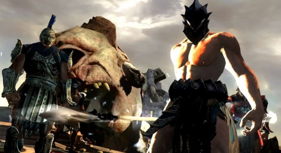 Foto(Reprodução): God of War Ascension Beta Multiplayer