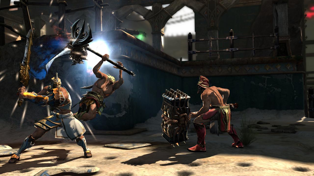 Foto (Reprodução): God of War Ascension Beta Multiplayer