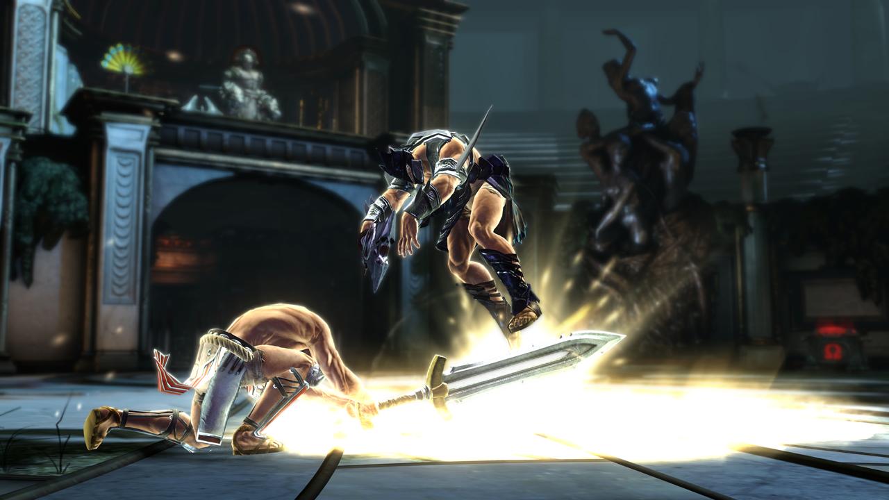 Foto(Reprodução): God of War Ascension Beta Multiplayer.