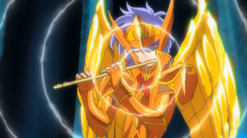 Foto (Reprodução): Saint Seiya Omega : Ultimate Cosmo - Sorento de Siren.