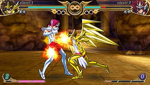 Foto (Reprodução):Saint Seiya Omega Ultimate Cosmo.