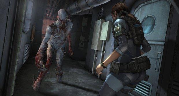 Foto (Reprodução): Resident Evil Revelations possui gráficos surpreendentes.